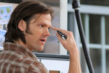 Jared Padalecki and Jensen Ackles back on Set of Supernatural 03/27/2012