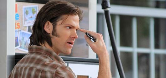 Jared Padalecki and Jensen Ackles back on Set of Supernatural 03/27/2012