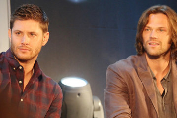 Supernatural JIBCON 2012  Saturday J2, Jared, Jensen, Misha Panel