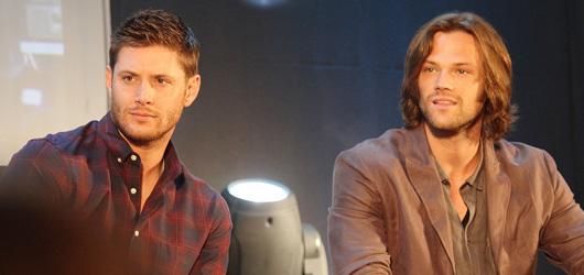 Supernatural JIBCON 2012  Saturday J2, Jared, Jensen, Misha Panel