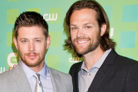 HQ Pics  Supernatural's Jensen Ackles and Jared Padalecki at CW Upfronts NYC on May 17, 2012