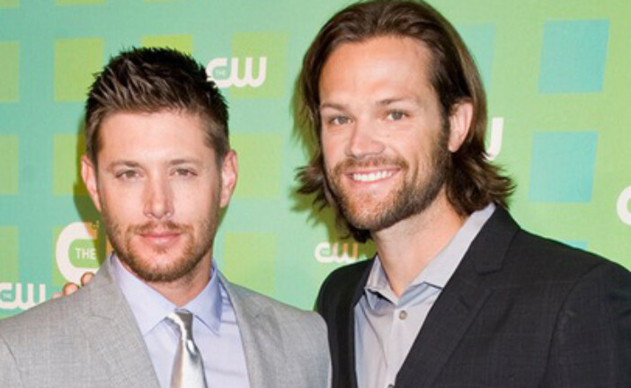HQ Pics  Supernatural's Jensen Ackles and Jared Padalecki at CW Upfronts NYC on May 17, 2012