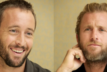 Update – Alex O'Loughlin and Scott Caan at the HPFA CBS Press Event 06/06/2012