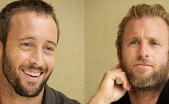 Update – Alex O'Loughlin and Scott Caan at the HPFA CBS Press Event 06/06/2012