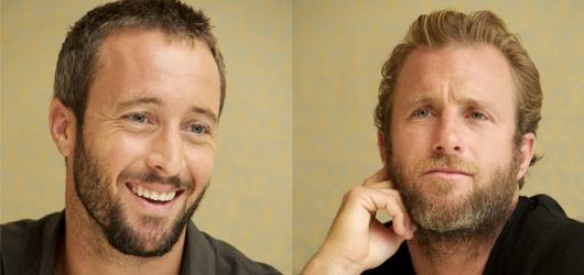 Update - Alex O'Loughlin and Scott Caan at the HPFA CBS Press Event 06/06/2012
