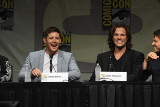 Supernatural Comi Con 2012 Panel Pictures
