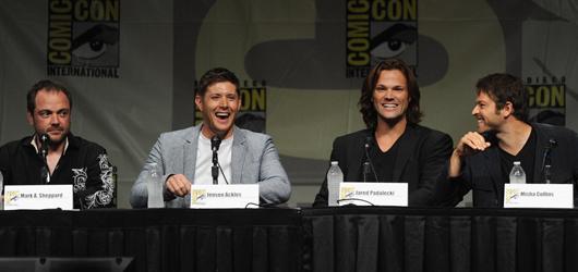 Supernatural Comi Con 2012 Panel Pictures