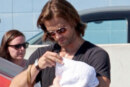 UPDATED – Supernatural Star Jared Padalecki showed off his adorable son Thomas Colton