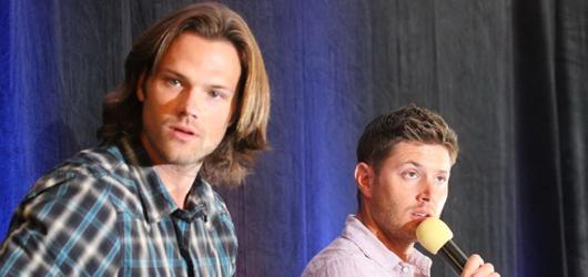 Supernatural VanCon 2012 - J2, Kim Rhodes, Julian Richings and Steve Carlson