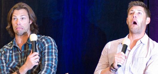 Supernatural VanCon 2012 – J2 and Kim Rhodes