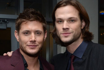 Supernatural – Jared, Jensen and their lovely wives at the Peoples Choice Awards 2013